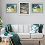 Wood Frames In White, Grey and More Colors- Ready Made Art Frames – Decor Frames
