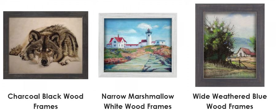 Home Decor White and Grey Frames