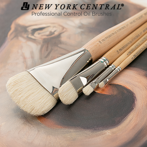 new-york-central-pro-control-professional-oil-acrylic-brushes