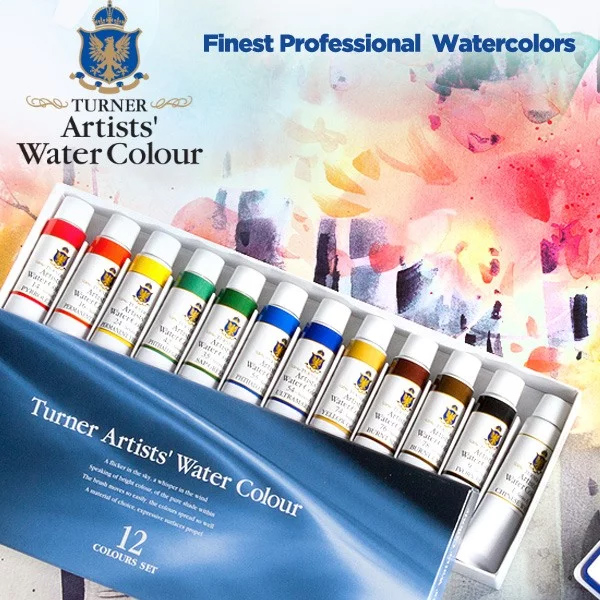 Turner-Professional-Watercolors