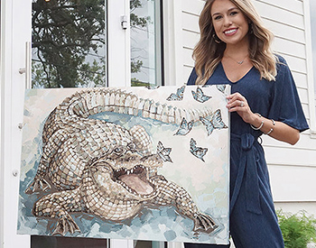Artist Casey Langteau Johnson, Making a House Feel Like a Home