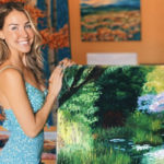 Artist Tessa Nicole – Meet Arizona's Self-Taught Impressionist Palette Knife Oil Painter