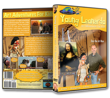 """Young Leonardo"" DVD with Dan Nelson"