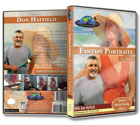 """Fantasy Portraits at Sea"" DVD with Don Hatfield"