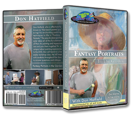 """""""Fantasy Portraits in the Garden""""  DVD with Don Hatfield"""