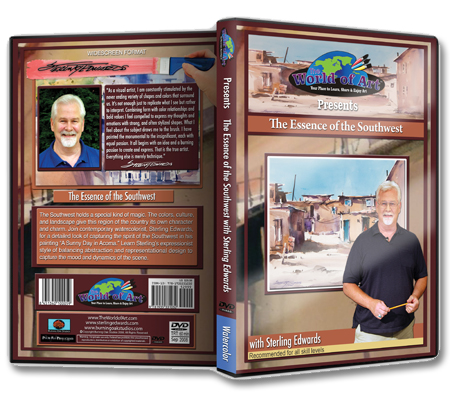 """The Essence of the Southwest"" DVD with Sterling Edwards"