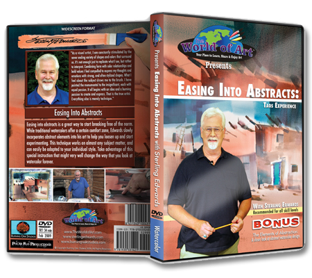 """Easing Into Abstracts: Taos Experience"" DVD with Sterling Edwards"