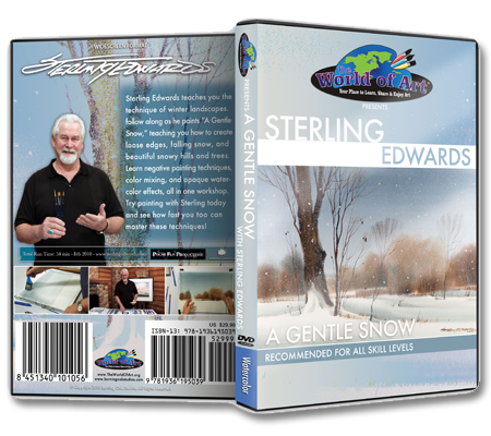 """A Gentle Snow"" DVD with Sterling Edwards"