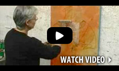Watch this bio of Artist Rebecca Crowell to see how she brings her abstract works of art to life on Ampersand Gessobord.