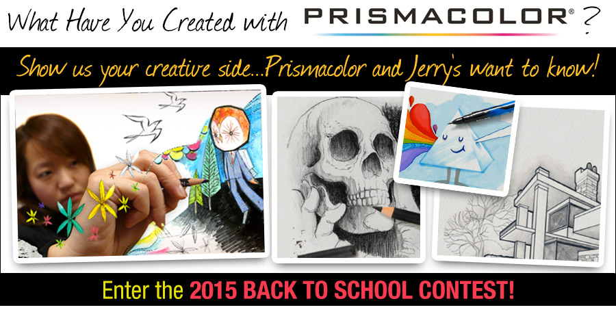 Prismacolor 2015 Back to School Contest!