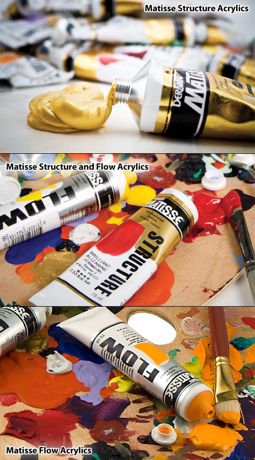 Beauty Shot matisse Paints