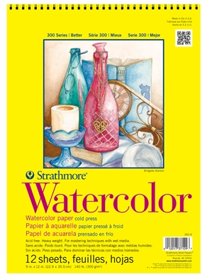 Strathmore 300 Watercolor Pads