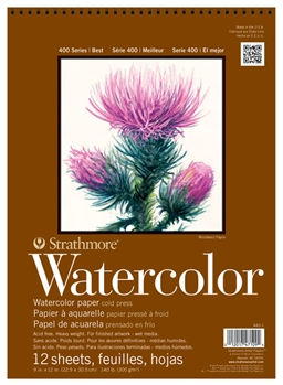 Strathmore 400 Watercolor Pads