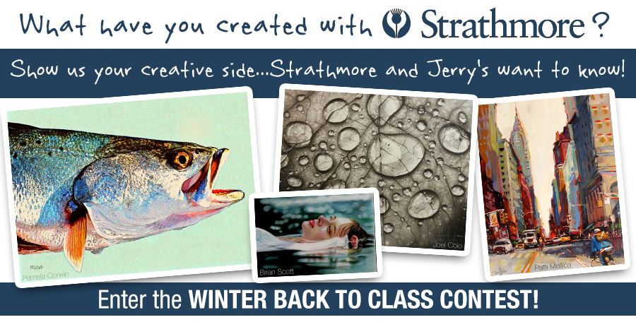 Strathmore 2015 Winter Back to Class Contest!