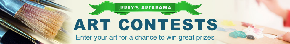 Jerry's Artarama Online Painting  Art Contests  - Compete For Over $4,000 In Prizes