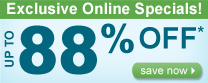 Summer Sizzling Savings are here Save up t0 80%