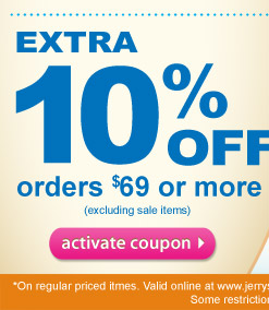 Extra 15% Off $99 or more or extra 10% Off $69 or more plus free shipping on order over $99