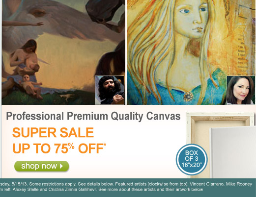 Paramount Professional 1-13/16 Deep Gallery Wrap Canvas