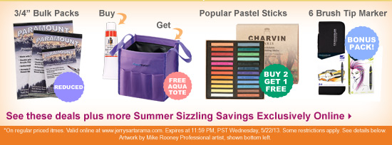 Summer Sizzling Savings are here