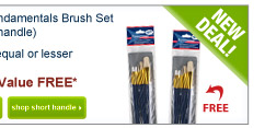 Buy one Fundamentals Brush Set(long or short handle)Get One of equal or lesservalue FREE - Shop Now