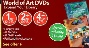 World of Art DVDs Special Holiday Pricing - See Offer