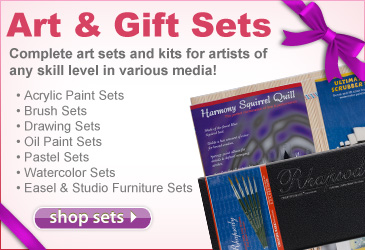 Art & Gift Sets make a great gift.