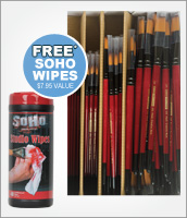 Brush Class Packs with Free Gift