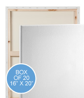 Practica Economy Stretched Canvas Boxes of 20