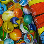'Super Marbles' by Victor Vicini