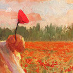'Love in a Field of Poppies' by Christopher Clark