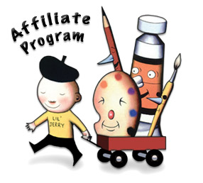Art Supplies  - Jerrys Affiliates Program