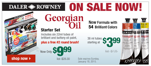 Daler-Rowney Georgian Oil Colors on Sale - Up to 73% Off List! | start shopping