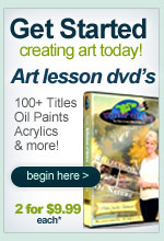 get started in art today! World of Art Video Art Lessons Collection great for beginners to learn how to paint, start drawing and so much more