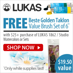 LUKAS Watercolor Promotion