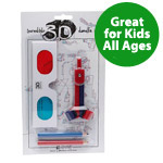 Kids 3d Krawing Kit with 3d Glasses