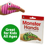 Temporary Tattoo Hand Puppets: Monsters
