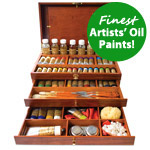 Charvin Extra Fine Deluxe Oil Painting Set