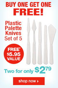 Plastic Painting & Palette Knives