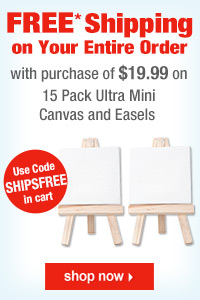 Ultra Mini Artist Stretched Canvas