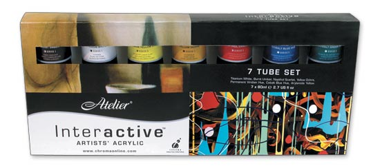 Chroma Atelier Interactive Artists' Acrylic Sets