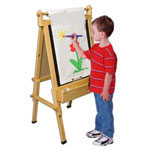fundamentals adjustable easel for childrenl