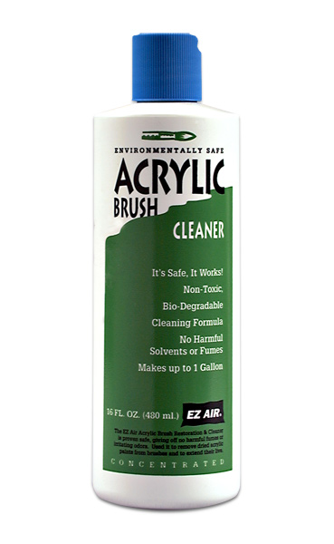 EZ Air Acrylic Brush Cleaner