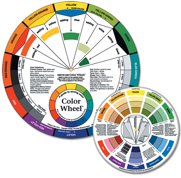 Color Wheel Colors Charts