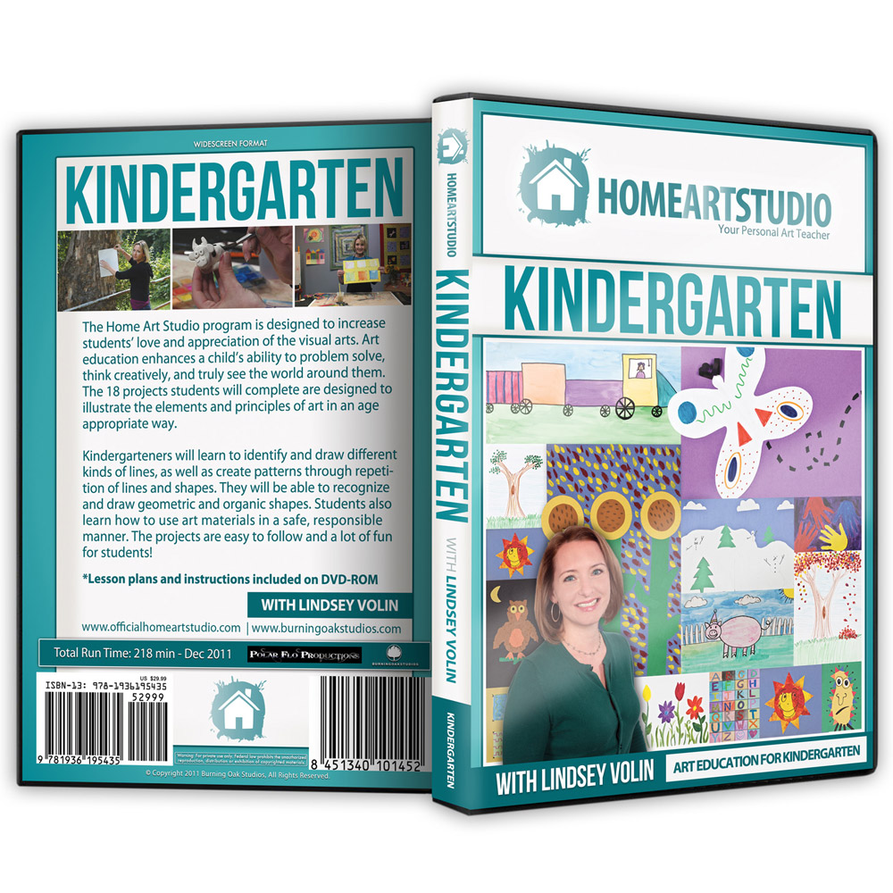 Home School Art Studio Program K-5 DVDsHome School Art Studio Program K-5 DVDs