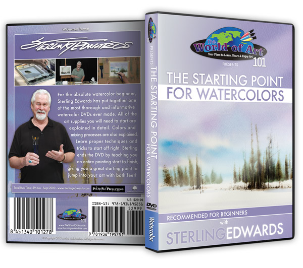 Watercolor DVDs