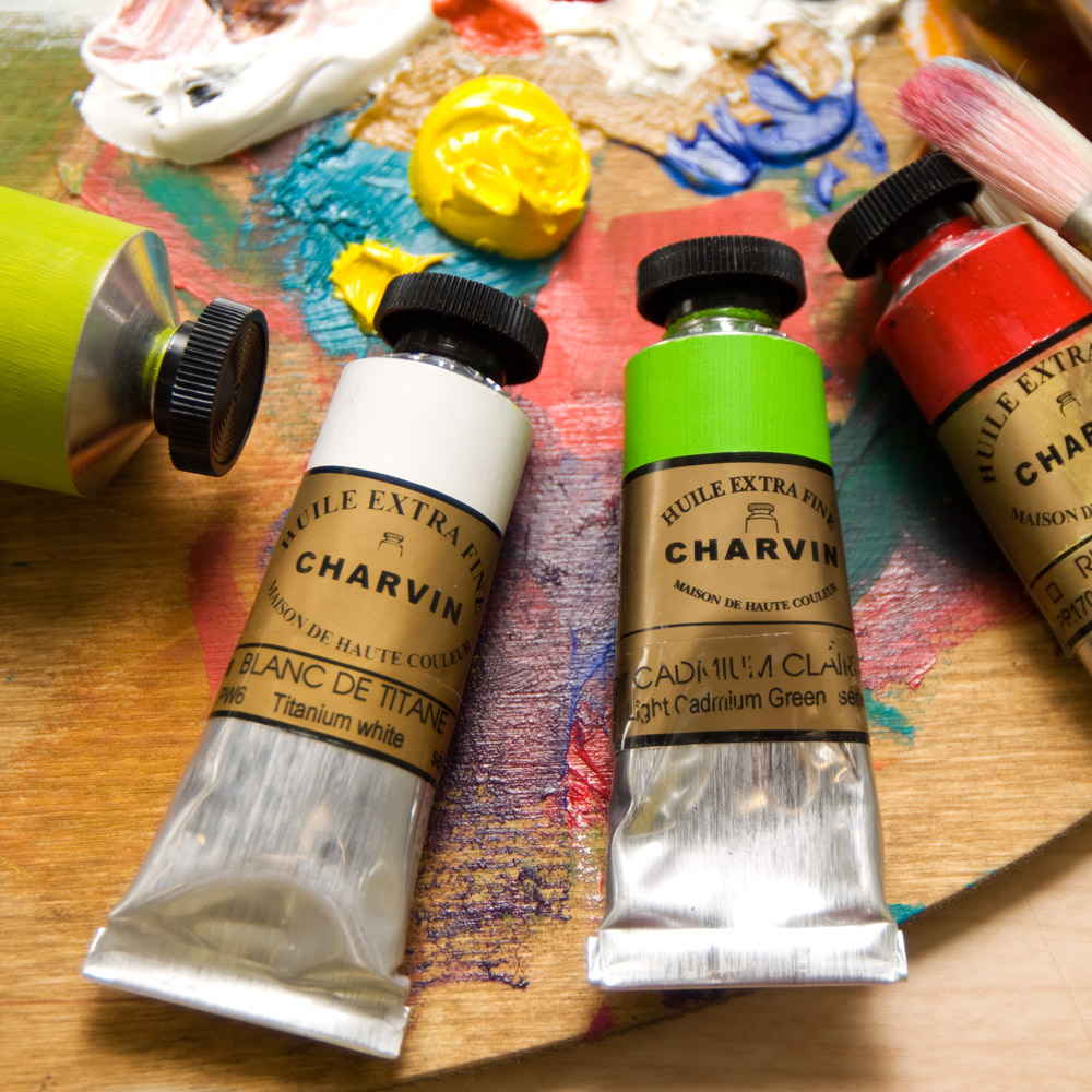 Charvin Master Oil Paints