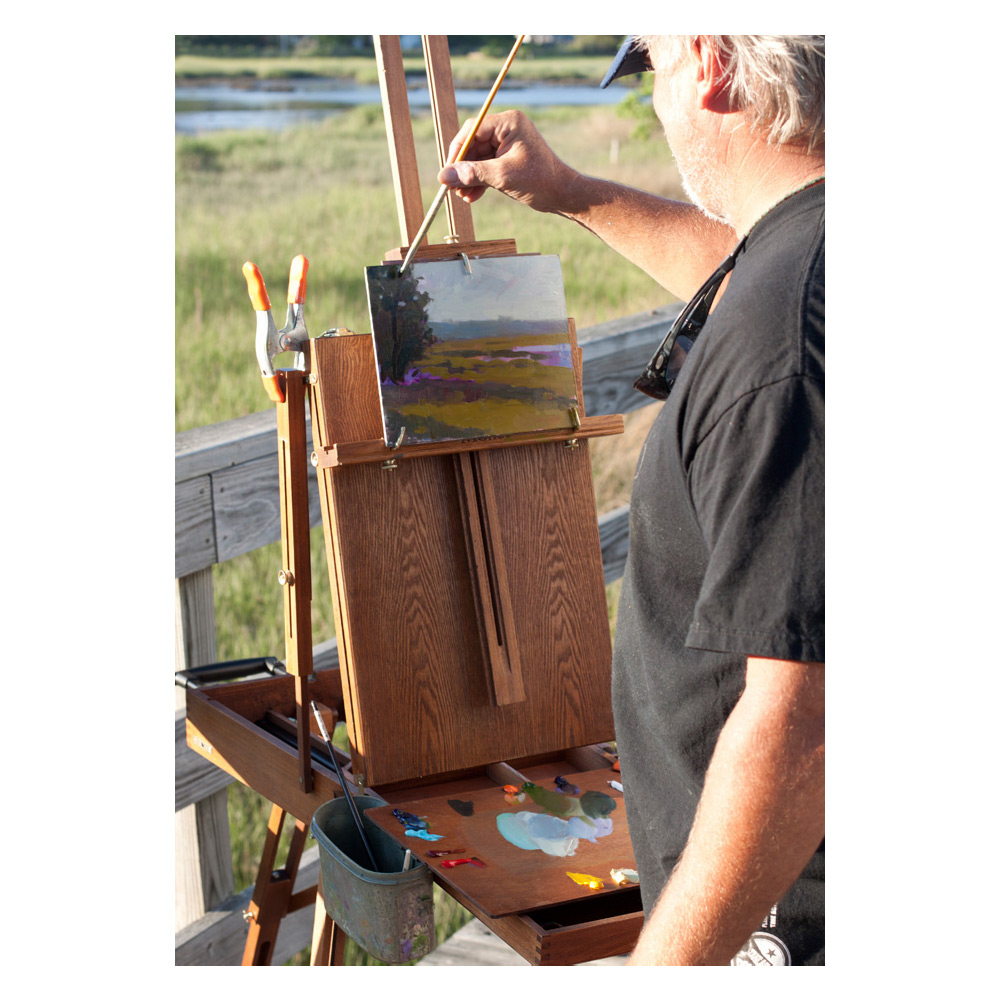Professional Plein Air Painter Mike Rooney loves painting with LUKAS 1862 Oil Color Paints.