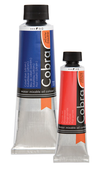 Cobra Water-Mixable Oil Paints