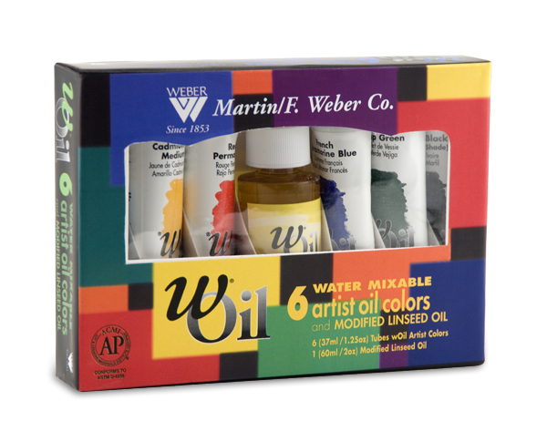 Weber Water-Mixable wOil Paints Sets