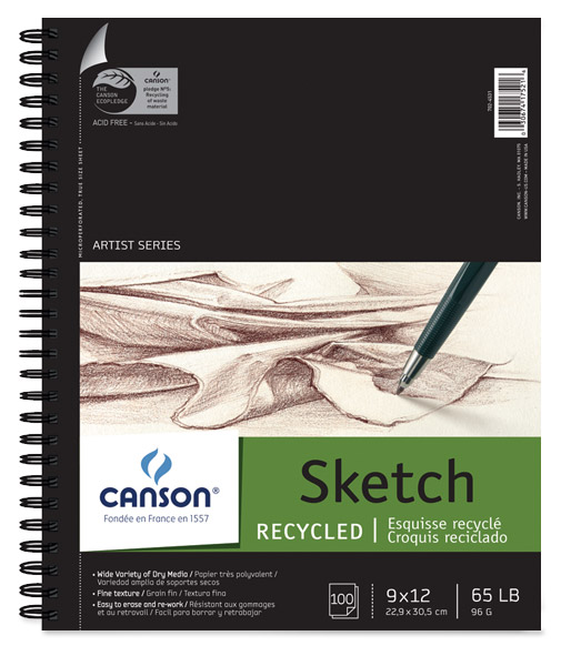 Canson Universal Recycled Sketch Pads